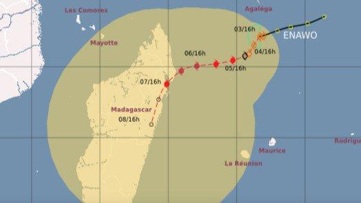 Rapport des dégâts occasionnés par le cyclone Enawo surSainte-Marie.
